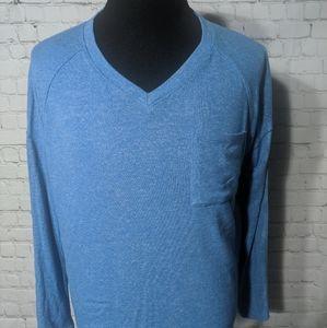 Calvin Klein Women's XL Long Sleeve V-Neck Rayon
